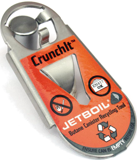 Інструмент Jetboil CrunchIt Fuel Canister Recycling Tool