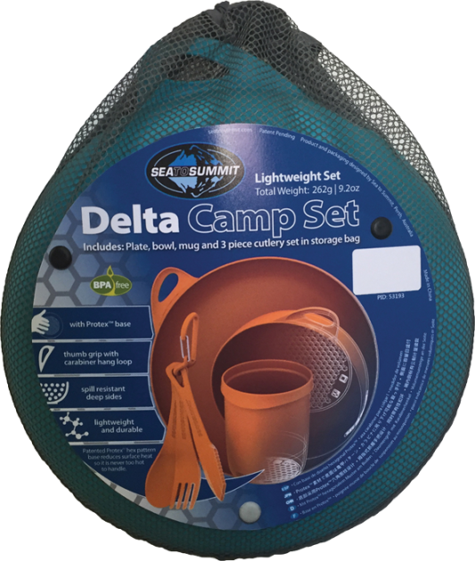 Набір Sea To Summit Delta Camp Set, grey
