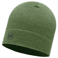 Шапка Buff Midweight Merino Wool Hat, light military melange