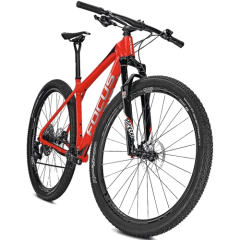 "Велосипед Focus Raven Max Team 12G 29"" 46/M, red/white, M"