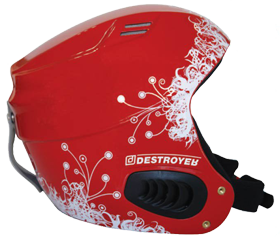 Шолом Destroyer DSRH-222, Shinny Red, S