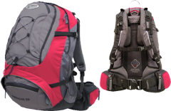 Рюкзак Terra Incognita Freerider 35, red / grey
