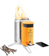 Пальник-зарядка з ліхтариком Biolite Campstove 2 with Flexlight