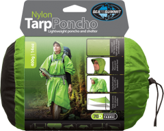 Пончо Sea To Summit Nylon Tarp Poncho, green forest