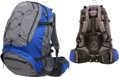 Рюкзак Terra Incognita Freerider 22, blue / grey