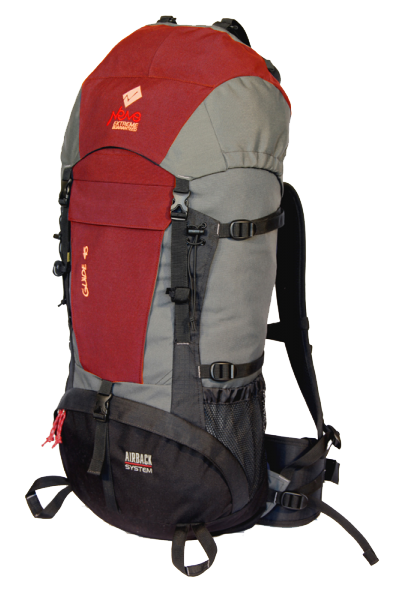 Рюкзак Commandor Guide 45l, red