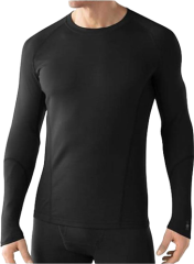 Термофутболка Smartwool NTS Light 195 Crew, black, L