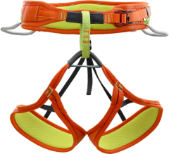 Страхувальна система Climbing Technology On-Sight, Green/Orange, S