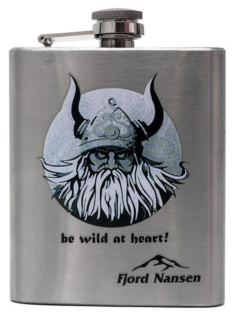 Фляга Fjord Nansen VILL VIKING HIP FLASK