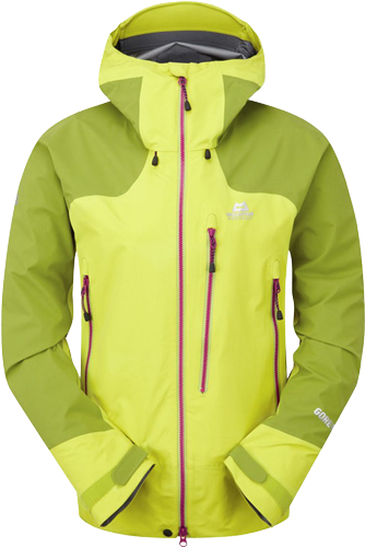 Куртка Mountain Equipment Women's Manaslu Jacket, Citronelle/Kiwi, S