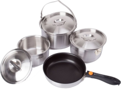 Набір посуду Kovea All-3PLY Stainles Cookware(7~8) KKW-CW1105