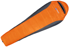 Спальник Terra Incognita Siesta 200 (–10 0 +21°C), orange / grey, Long, R