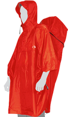 Пончо Tatonka CAPE MEN XS, red, XS